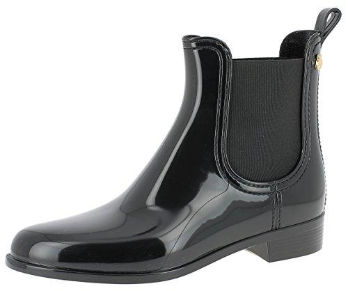 Lemon Jelly Damen Comfy Chelsea Boots, Schwarz (Black 01), 39 EU