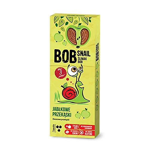2 x Bob Snail - Apple Fruit Sweets 30g