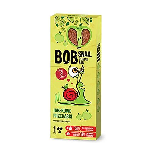 3 x Bob Snail - Apple Fruit Sweets 30g