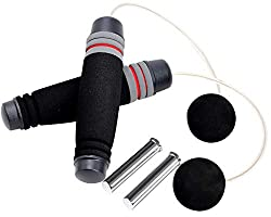 top rated Cyber Dyer Free Speed Weighted Rope for Endurance Training Boxing MMA… 2021