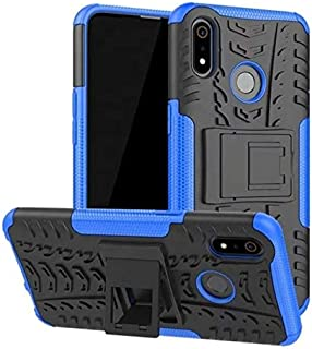 for Realme 3 pro heavy duty Armor Shockproof case cover With Stand