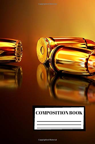 Composition Book: Hunting | Shooting | 3D | Composition Notebook | 100 Wide Ruled Pages | Journal | Diary | Note | High Quality