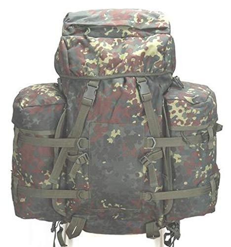 A.Blöchl AB US Mountain Rucksack mit Regenüberzug (100 Liter/Flecktarn)