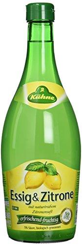 Kühne Essig und Zitrone 5%, 6er Pack (6 x 750 ml)