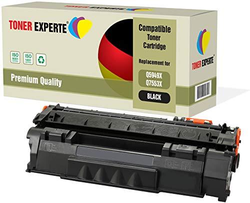 TONER EXPERTE® Premium Toner kompatibel zu Q5949X Q7553X für HP Laserjet 3390 3392 1320 1320n 1320tn 1320nw M2727nf M2727nfs MFP P2014 P2015 P2015d P2015dn P2015x