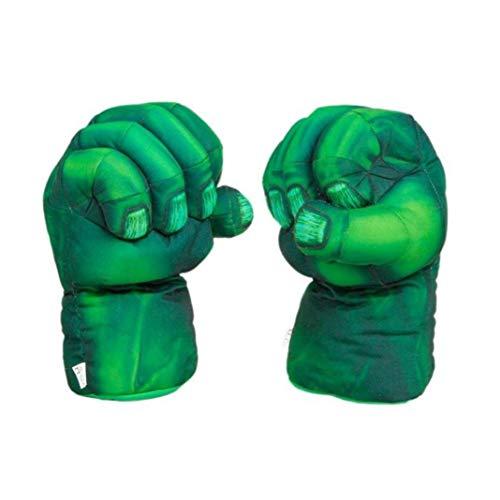 Dorime 2 / lustiges Superhelden-Kostüm für die roten Handschuhe Hulk Spider-Man Handschuh Hand Boxhandschuhe Partei für Kinder Kinderspielzeug