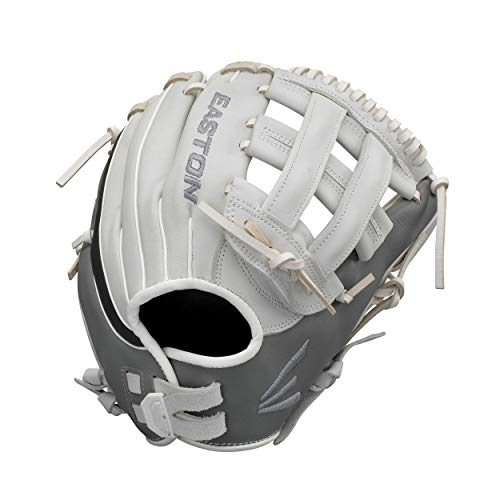 EASTON GHOST Fastpitch Softball Glove | 2020 | Right-Hand Throw | Female Athlete Design | 12.75' | Outfield Glove | H Web | Premium USA Steer Leather | Quantum Closure | Leather Lining | GH1276FP