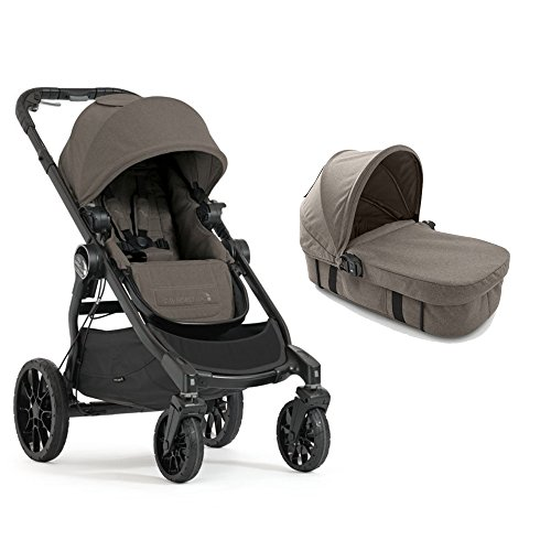Baby Jogger 2017 City Select LUX Stroller with LUX Bassinet (Granite)