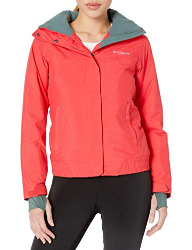 Columbia Women's Lay D Down Jacket, Red Camellia, Large