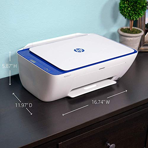 HP DeskJet 2655 All-in-One Compact Printer, HP Instant Ink or Amazon Dash replenishment ready - Noble Blue (V1N01A)