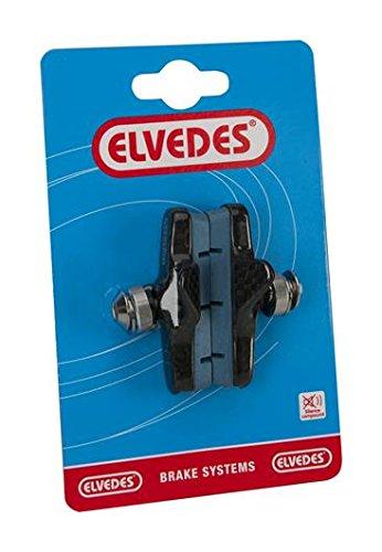 ELVEDES 1 Paire Porte Patin Frein Route 55mm pour Jantes Carbone, Campagnolo Vélo/Cycle/VAE/E-Bike Adulte Unisexe, Bleu