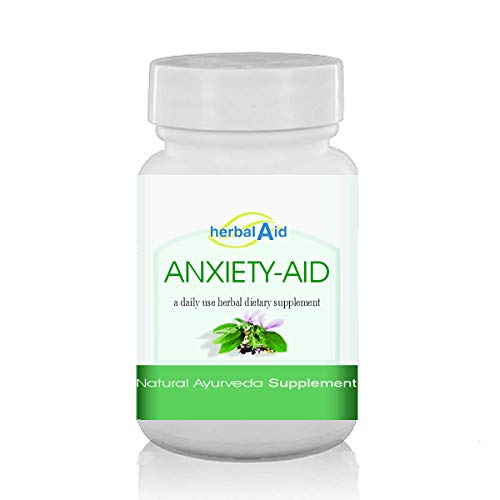 Herbal Aid Anxiety Aid Capsules Herbal Supplement (60 Capsules)
