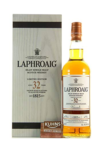Laphroaig 32 Years Old Limited Edition mit Geschenkverpackung Whisky (1 x 0.7 l)