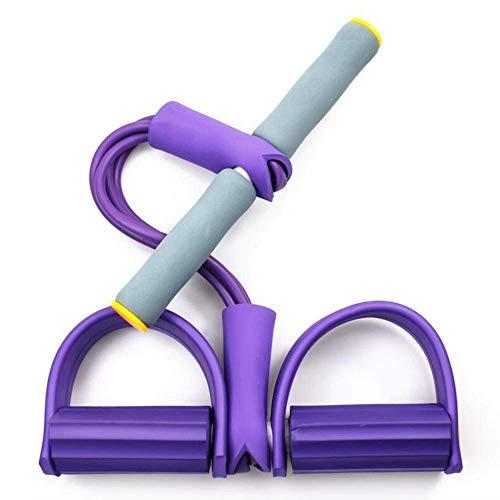 HFJKD Cuerda de tracción para Sentarse, Pedal de Entrenamiento Abdominal Multifuncional, Expansor de Culturismo, Cuerda de tracción elástica, Estiramiento y Adelgazamiento de la Aptitud