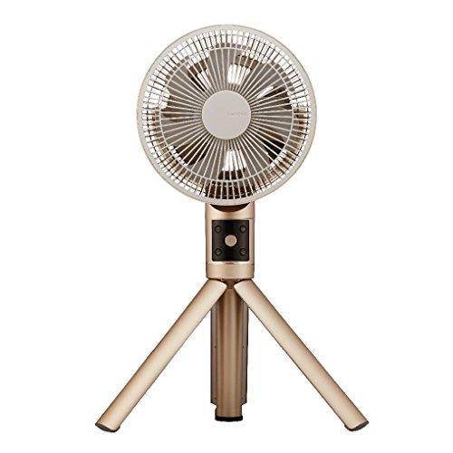 カモメファン 扇風機 リビングファン 20cm シャンパンゴールド FKLS-201D CGD