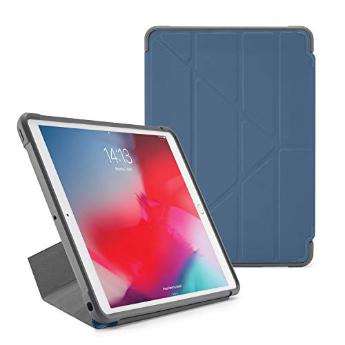 Amazing Deal PIPETTO Origami Shield iPad case Air 10.5 (2019/2017) | Rugged Shockproof with 5 in 1 S...