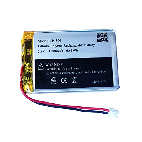 3.7v 1800mAh LiPo Battery for Sony DualShock 4 PS4 Controller Battery Replacement (Cuh-zct2u Battery_1 Pack)