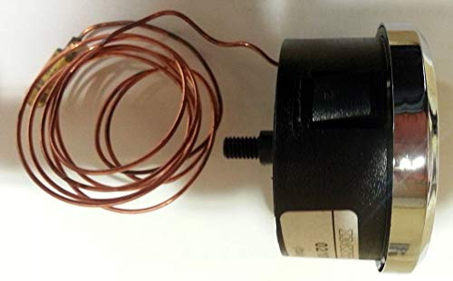 IMIT Termómetro para Horno de leña con capilar de 3 Metros, de +50ºC a 350ºC