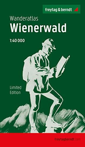 Wienerwald, Wanderatlas 1:40.000, Jubiläumsausgabe 2020 (freytag & berndt Wander-Rad-Freizeitkarten)
