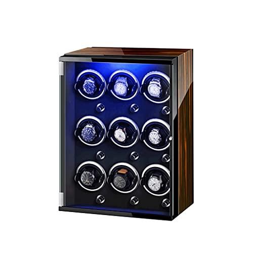 Reloj Winder LEDSeven color para con motor súper silencioso 9+0 pantalla de lujo se puede utilizar con relojes tanto para hombres como para mujeres