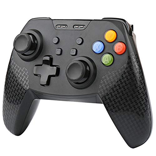 Cypin Wireless Controller für Nintendo Switch Bluetooth Switch Pro Controller mit Dual-Vibration und 6-Achsen Gyroskop Gamepad Joystick Joypad für Nintendo Switch