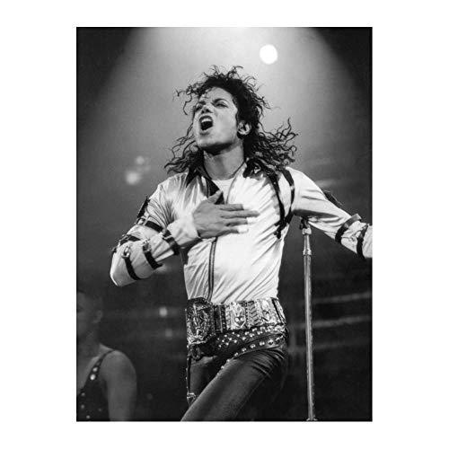 Póster Michael Jackson Music Star 15x23' (38 x 58 cm) (380 x 580 mm)