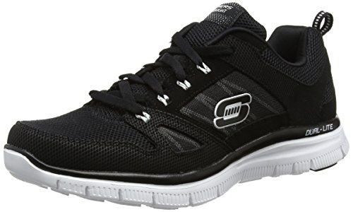 Skechers Flex Advantage, Herren Sneaker, Schwarz (Bkw), 44 EU (9.5 UK)