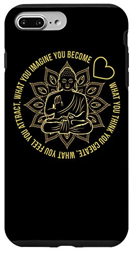 iPhone 7 Plus/8 Plus Law Of Attraction Spiritual Buddha Case