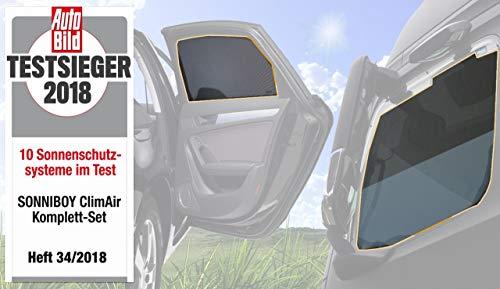 Komplett-Set für die hinteren Seitenscheiben und die Heckscheibe-CLI10071ABC passend für VW Golf SPORTSVAN Van, TYP AUV, 5-Door, 2014-