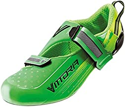 Vittoria TRI PRO Triathlon Cycling Shoes (Green, 44)