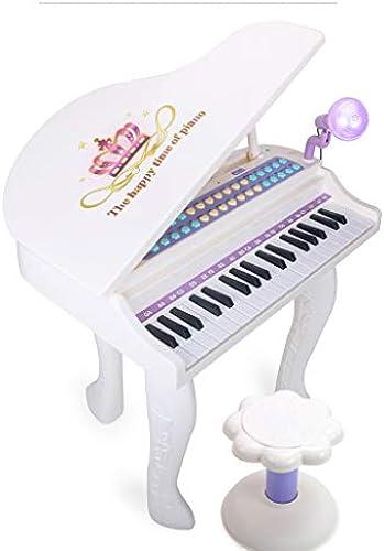 LIPENG-TOY Kindertastatur Klavier Klavier Anf er 3-6-12 Jahre alt kann Größes Klavier Spielen Baby Keys Musik Spielzeug (Farbe   Weiß