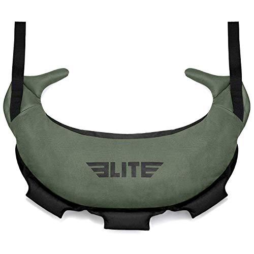 Elite Sports Bulgarian Canvas Bag for Crossfit, Fitness Canvas MMA Gym Cross Training Sandbag
