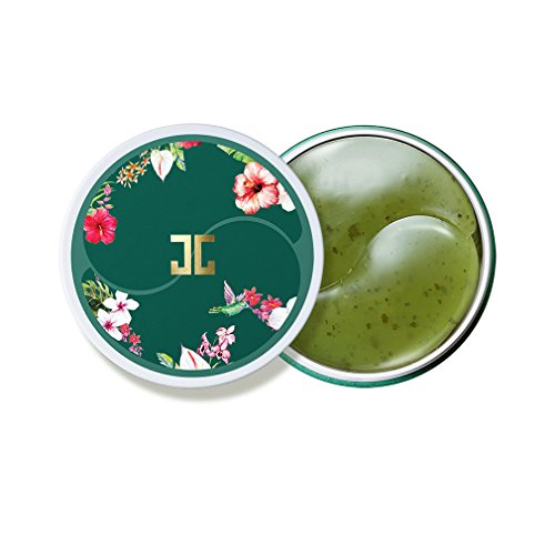 JAYJUN Green Tea Eye Gel Patch, Dark Circle, Puffy Eye, Under Eye Patch, 1.4g, 60 in Jar