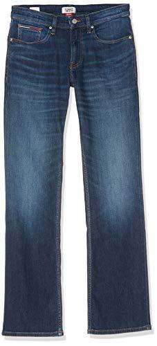 Tommy Jeans Herren Original Boot Ryan Atdk Straight Jeans, Blau (Atlanta Dark Blue Com 1bj), W38/L32