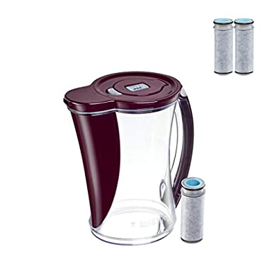 Brita 12 Cup Stream Filter As You Pour Water Pitcher (3 Filter)