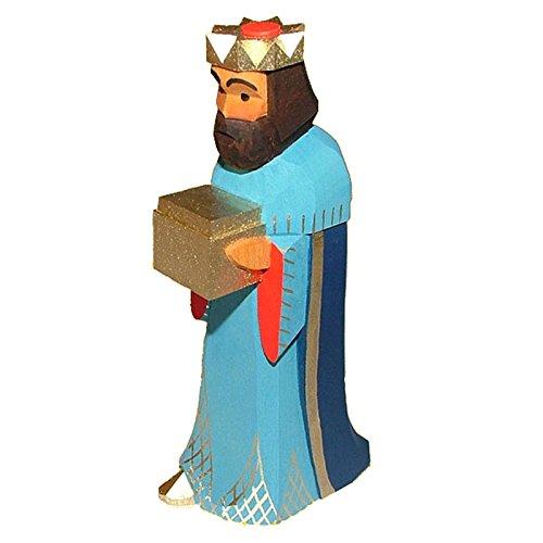 Lotte Sievers Hahn 1062 König blau stehend