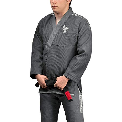 Hayabusa Lightweight Jiu Jitsu Gi (Grey, A3)