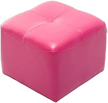 Shoe Bench stools Ottoman with Highly Elastic Sponge Filling PU Foot Stool
