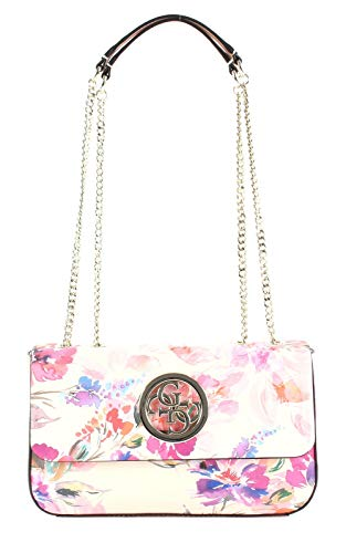 Guess Open Road Convertible Xbody Flap Pink Floral