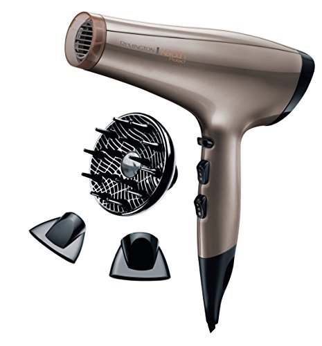 Remington Hair Dryer with 2200 W Power from Keratin Protect - Channel AC 8002,,, Pack of1