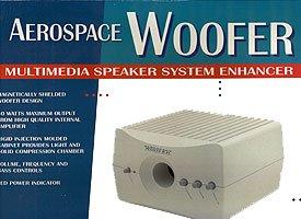Find Bargain Aerospace Woofer SV-722 Multimedia Speaker System Enhancer