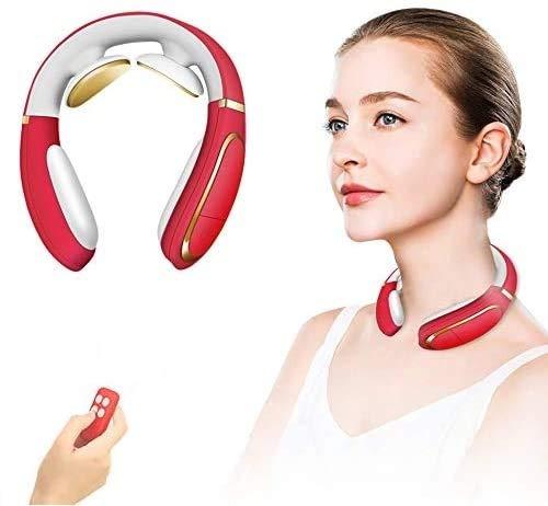 Neck Massager, Intelligent Portable 4D Neck Massage with Heat Cordless,3 Modes 15 Levels Smart Deep Tissue Trigger Point Massage