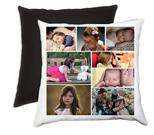 Hacer un Collage de Fotos Personalizada con Fotos de 8 Cojín
