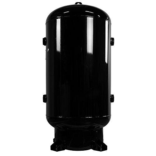 "Industrial Air 021-0408 80 gallon 24"" Diameter Vertical Air Receiver (200 Psi)"