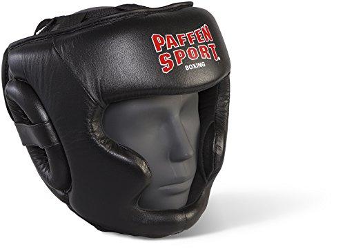 Paffen Sport KIBO Fight Kopfschutz für das Sparring; schwarz; GR: M/L