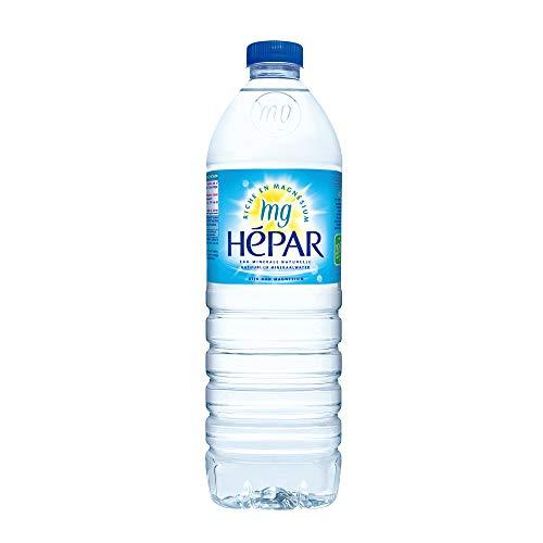 Hepar(エパー) ナチュラルミネラルウォーター1L ×12本