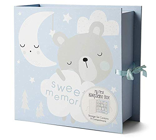 Baby Milestone Keepsake Storage Box: Track Treasured Memories - Sweet Memories