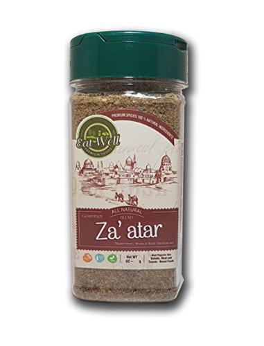 Za'atar (Zatar/Zaatar/Zahtar) Seasoning Blend | 3.5 oz - 100 g , Traditional Lebanese Spices , Zahtar Spice