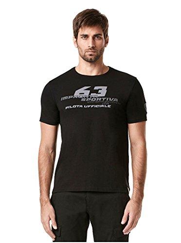 NEU. Lamborghini Impronta SPORTIVA # 63Herren T-Shirt Official Merchandise, schwarz