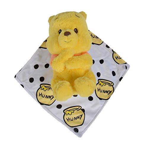 Doudou Malin Disney Winnie l'ourson Peluche Couverture 30 cm